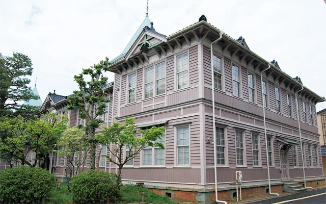 旧石川県立第二中学校校舎